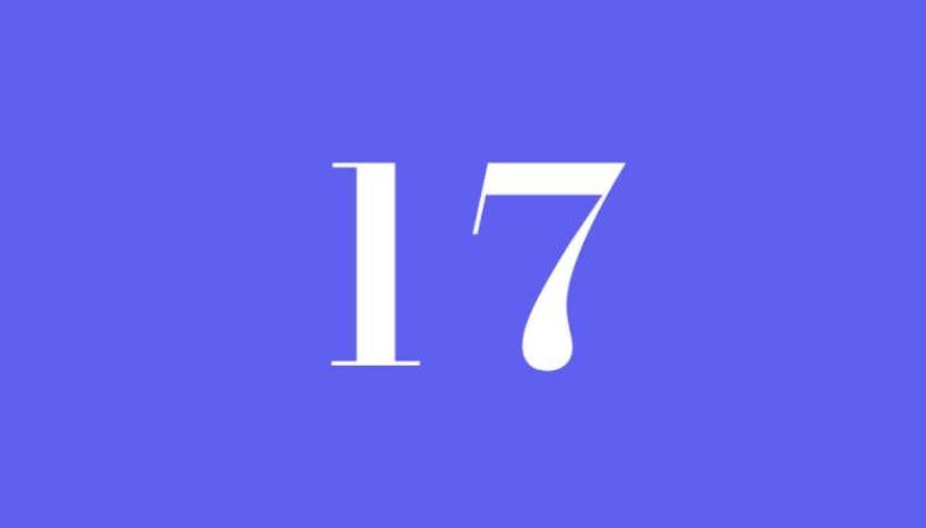Engelszahl 17: Symbole und ihre Bedeutung