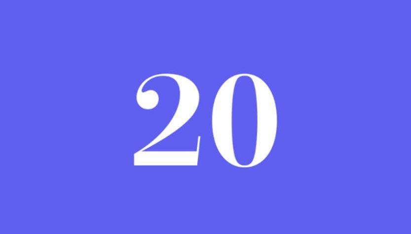 Engelszahl 20: Symbole und ihre Bedeutung