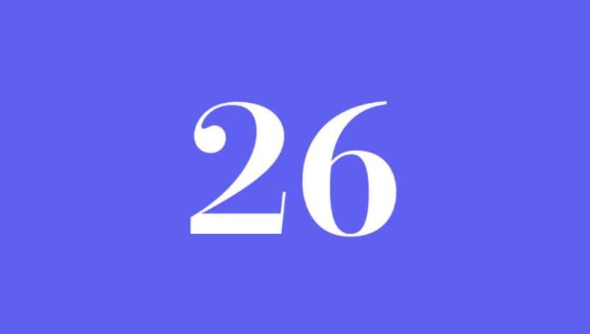 Engelszahl 26: Symbole und ihre Bedeutung