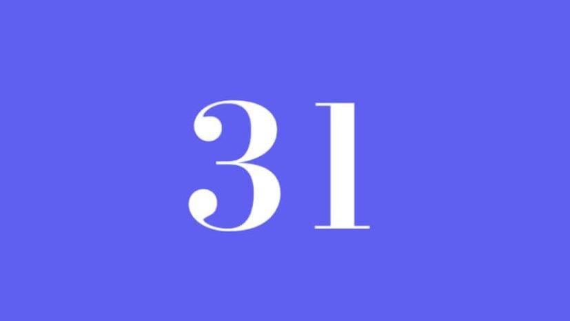 Engelszahl 31: Symbole und ihre Bedeutung