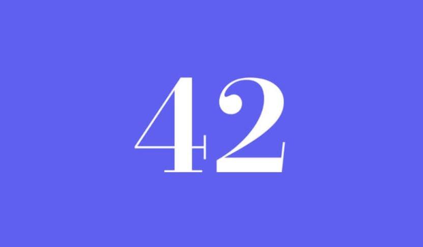 Engelszahl 42
