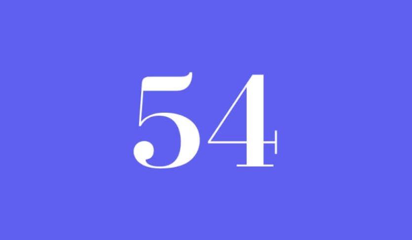 Engelszahl 54