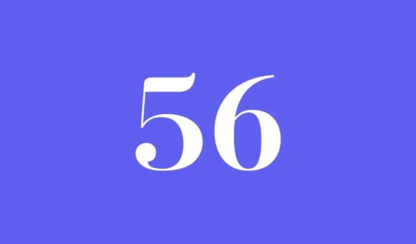 Engelszahl 56