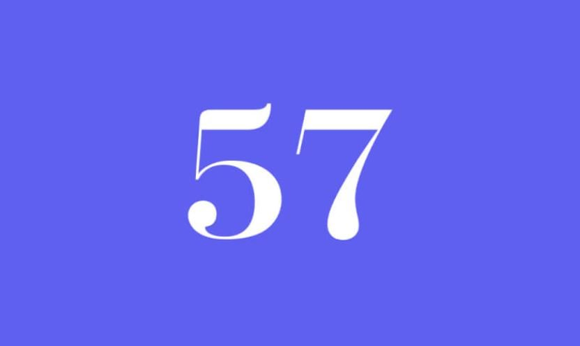 Engelszahl 57