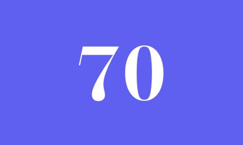 Engelszahl 70