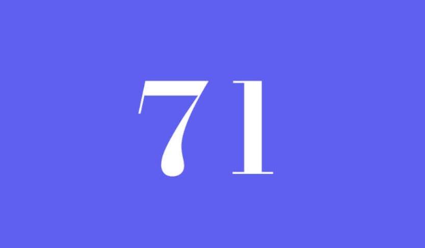 Engelszahl 71