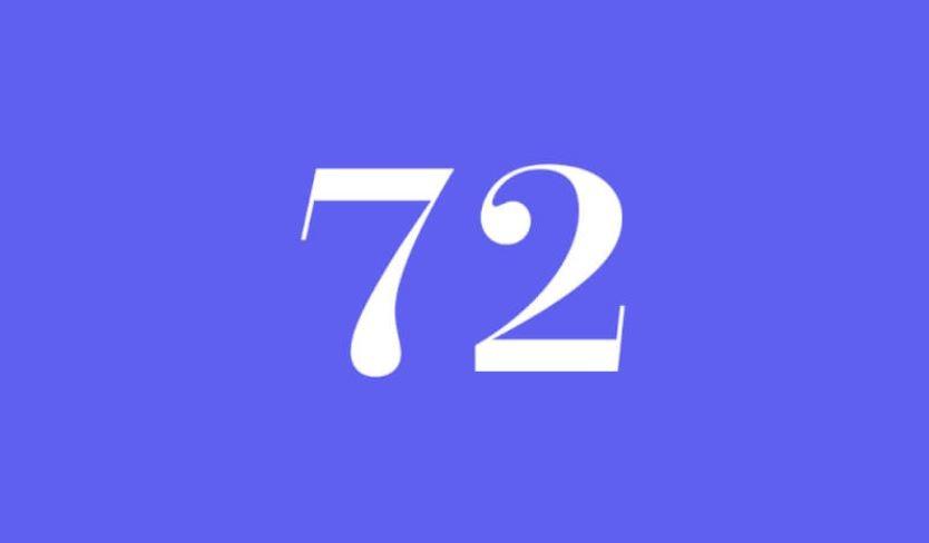 Engelszahl 72