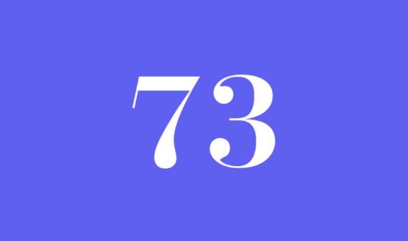 Engelszahl 73