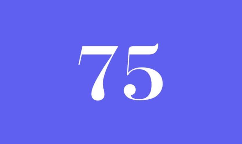 Engelszahl 75