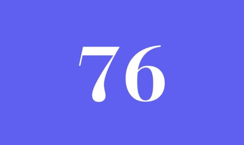 Engelszahl 76