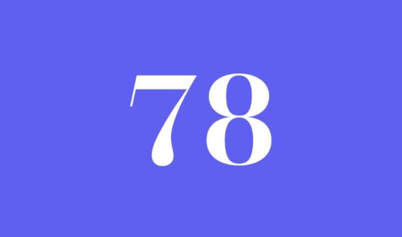 Engelszahl 78