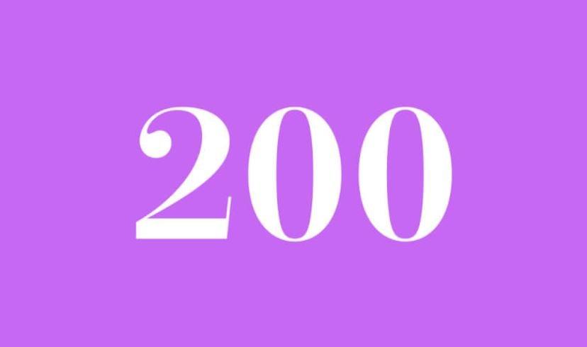 Engelszahl 200