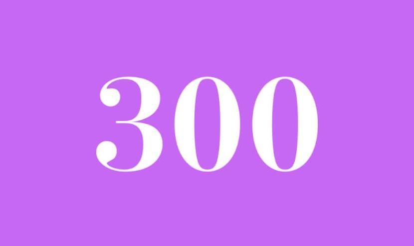 Engelszahl 300