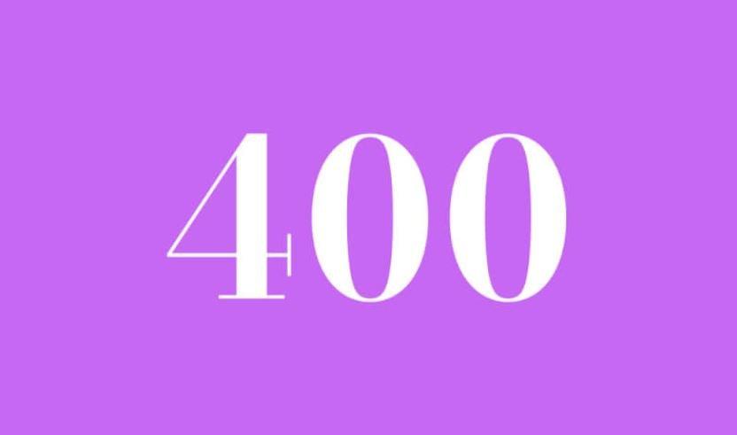 Engelszahl 400