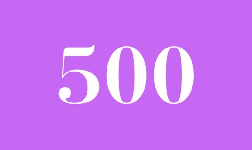 Engelszahl 500