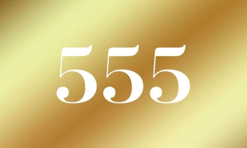 Engelszahl 555