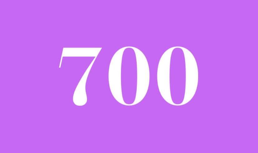 Engelszahl 700