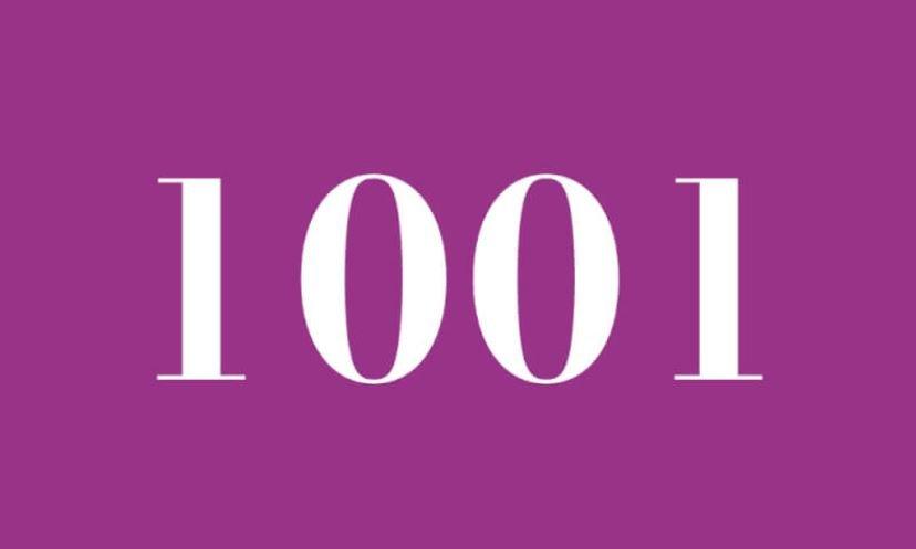 Engelszahl 1001