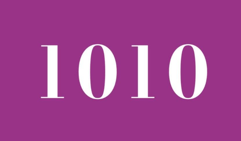 Engelszahl 1010