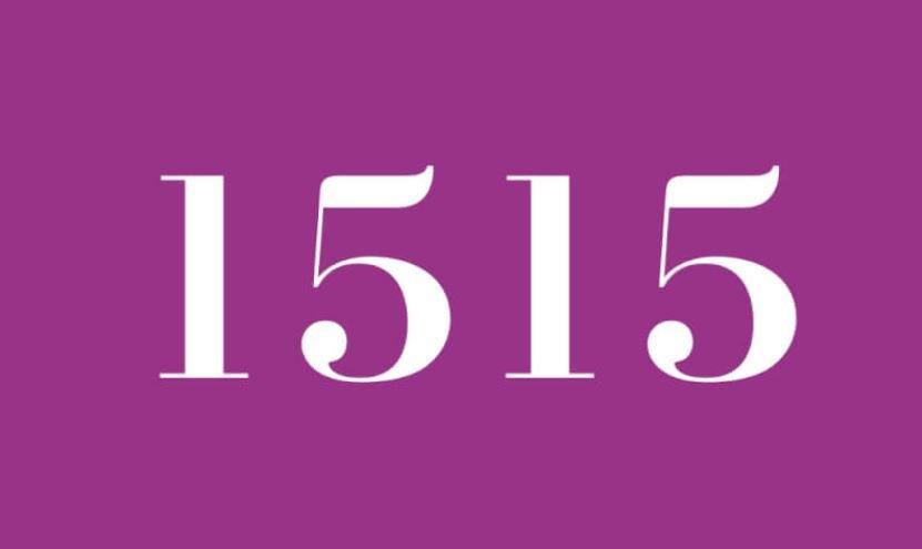 Engelszahl 1515