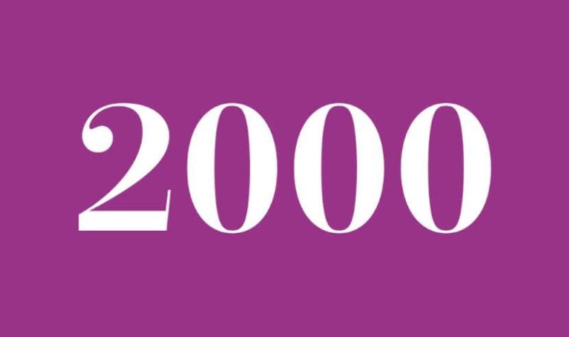 Engelszahl 2000