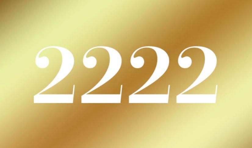 Engelszahl 2222