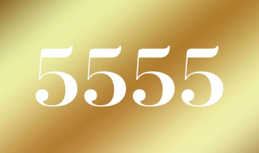 Engelszahl 5555