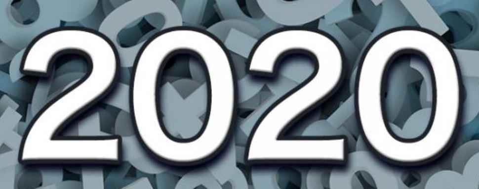 Zahl 2020