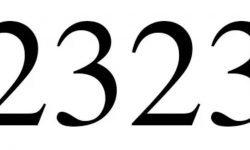 Die Bedeutung der Zahl 2323: Numerologie und Zahlenmystik