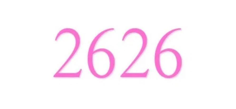 Zahl 2626
