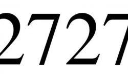 Die Bedeutung der Zahl 2727: Numerologie und Zahlenmystik