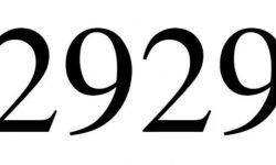 Die Bedeutung der Zahl 2929: Numerologie und Zahlenmystik