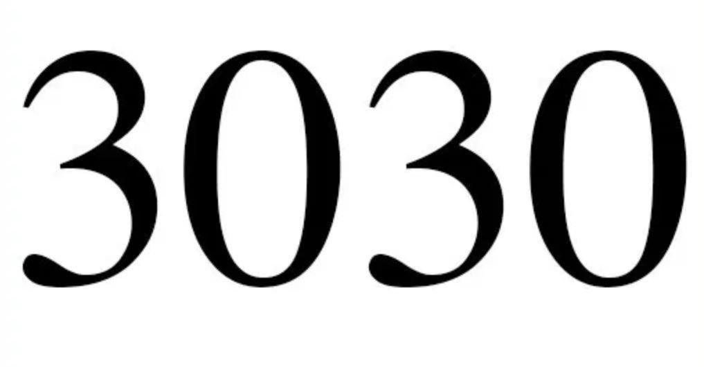 Zahl 3030