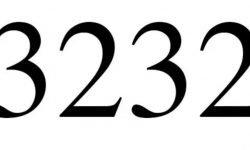 Die Bedeutung der Zahl 3232: Numerologie und Zahlenmystik