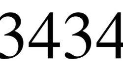 Die Bedeutung der Zahl 3434: Numerologie und Zahlenmystik