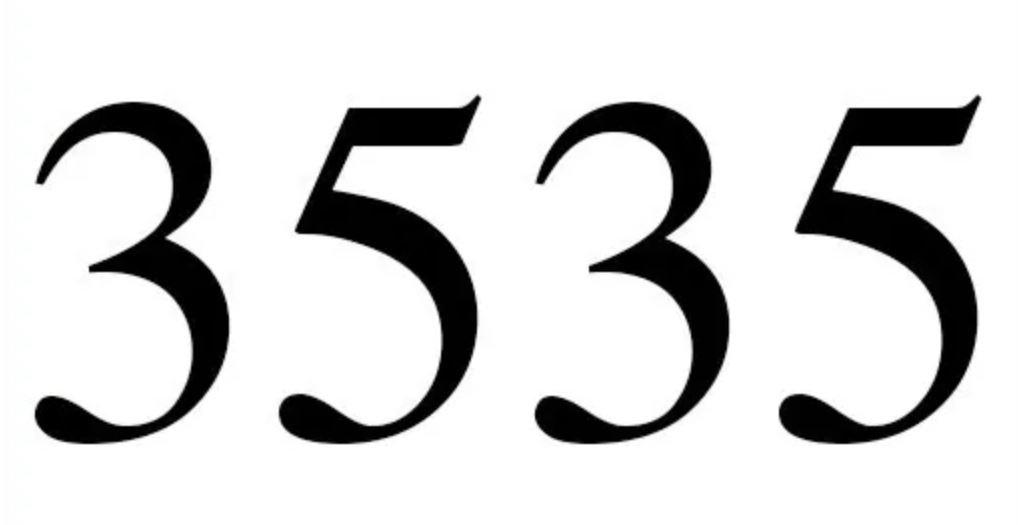 Zahl 3535
