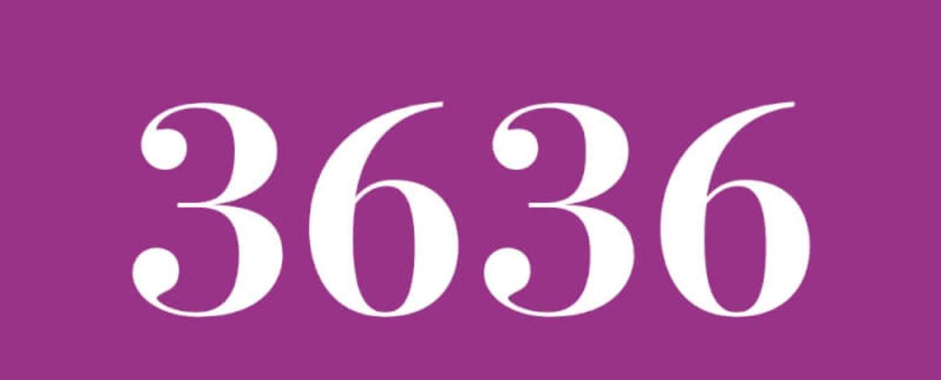 Zahl 3636