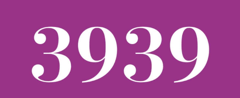 Zahl 3939