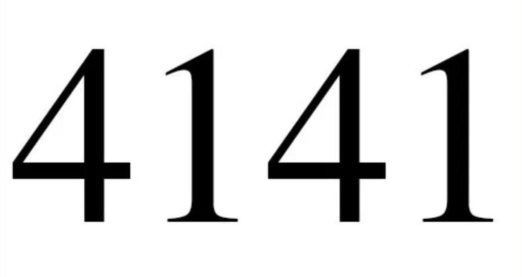 Zahl 4141