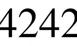 Die Bedeutung der Zahl 4242: Numerologie und Zahlenmystik