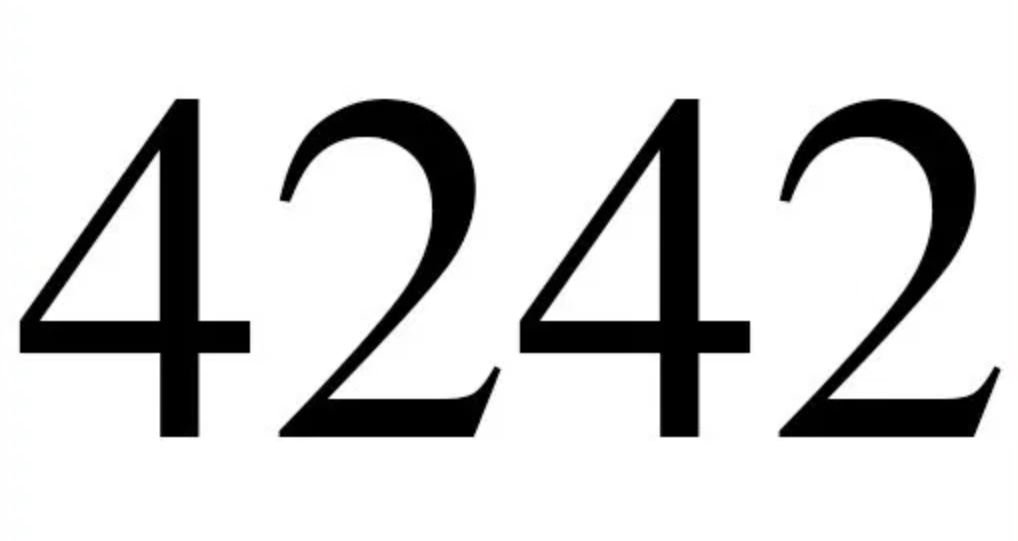 Zahl 4242