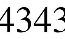 Die Bedeutung der Zahl 4343: Numerologie und Zahlenmystik