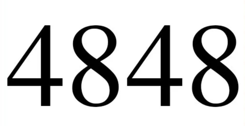 Zahl 4848