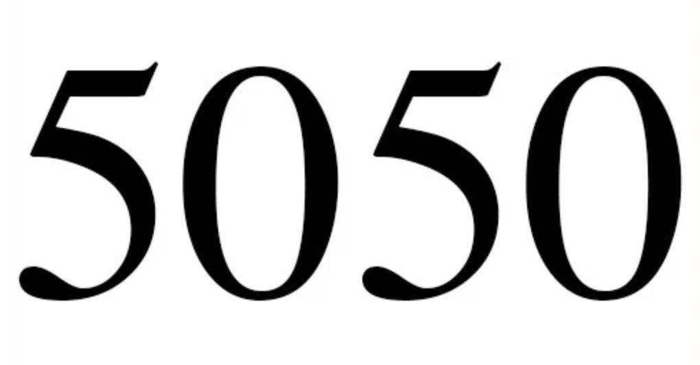 Zahl 5050