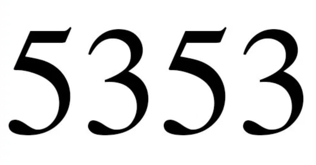 Zahl 5353