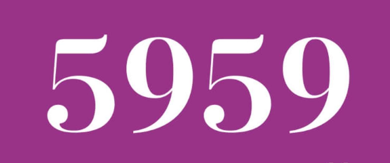 Zahl 5959