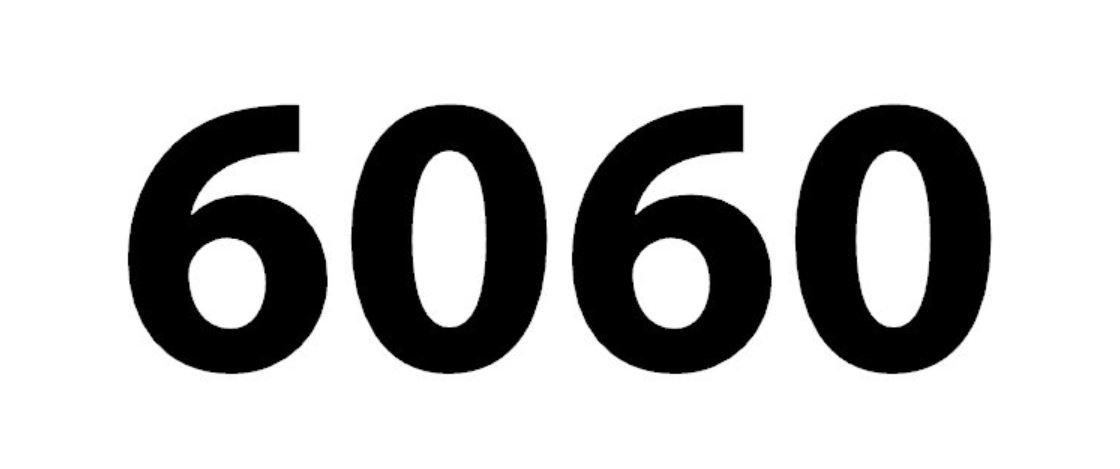 Zahl 6060