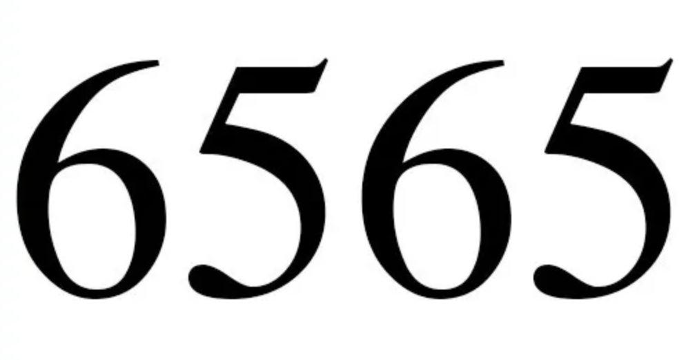 Zahl 6565