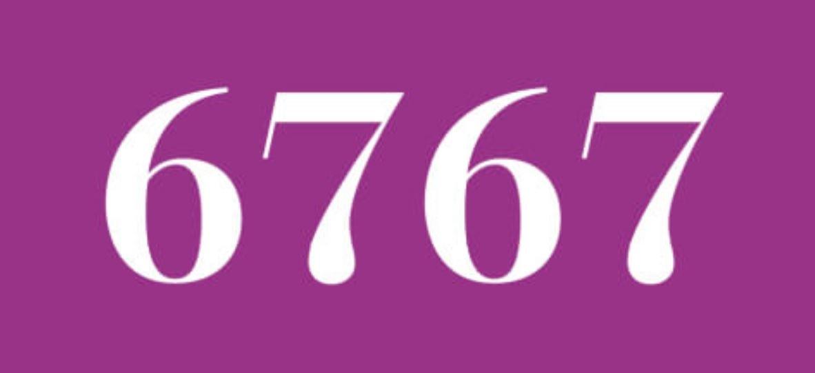 Zahl 6767