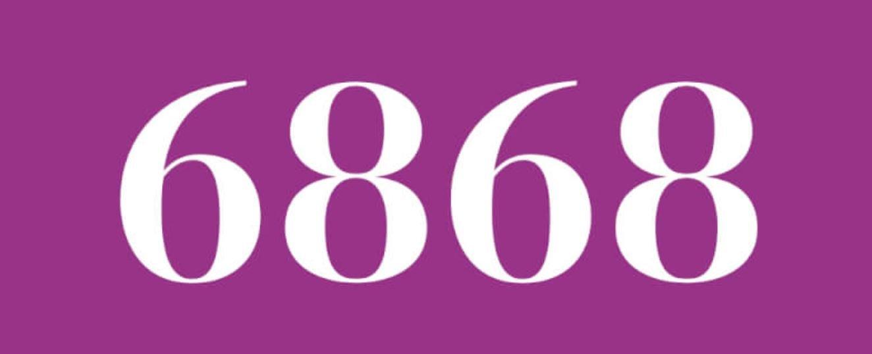 Zahl 6868